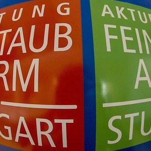 Feinstaubalarm Stuttgart (Quelle: Landeshauptstadt Stuttgart/Leif Piechowski).