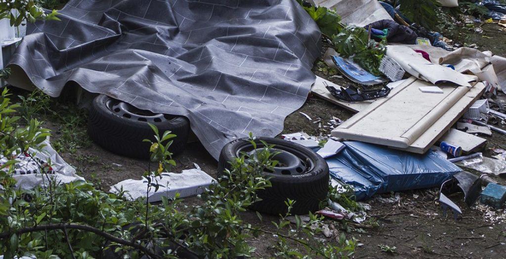 Illegale Müllkippe in Hagen: Dagegen gehen die Waste Watcher vor. (Quelle: Stadt Hagen/Michael Kaub)