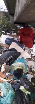 Illegale Müllkippe in Hagen. (Quelle: Stadt Hagen)