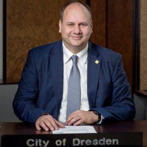 OBM Dirk Hilbert aus Dresden (Quelle: Landeshauptstadt Dresden/Michael Schmidt)