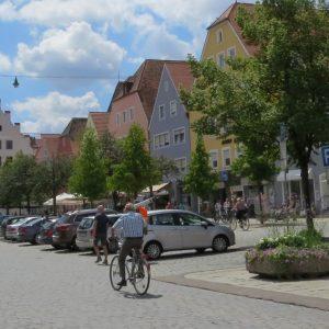 Prosperierende Stadt in Bayern: die Große Kreisstadt Neumarkt, hier die Marktstraße (Quelle: Stadt Neumarkt in der Oberpfalz)
