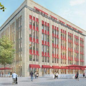 Stadttransformation: So soll sich das Karstadt-Gebäude in Recklinghausen entwickeln. (Quelle: Stadt Recklinghausen/AIP)