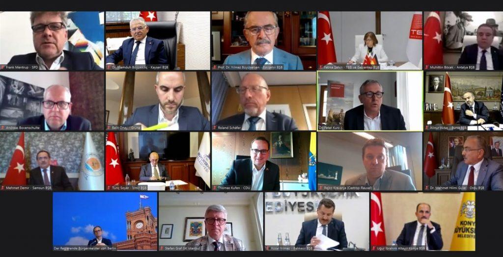 Virtuelle deutsch-türkische Städtekonferenz (Quelle: Stadt Mannheim)