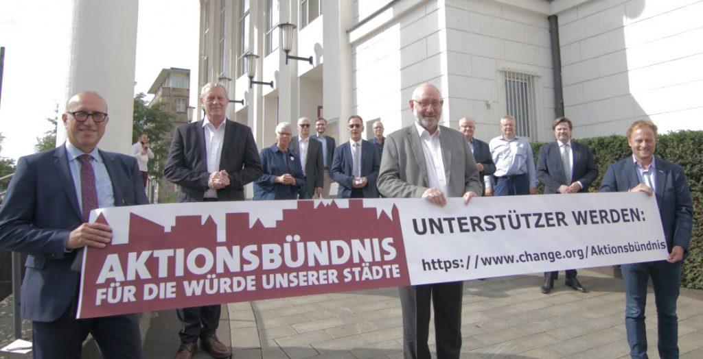 Aktionsbündnis Für die Würde unserer Städte (Quelle: Stadt Duisburg)