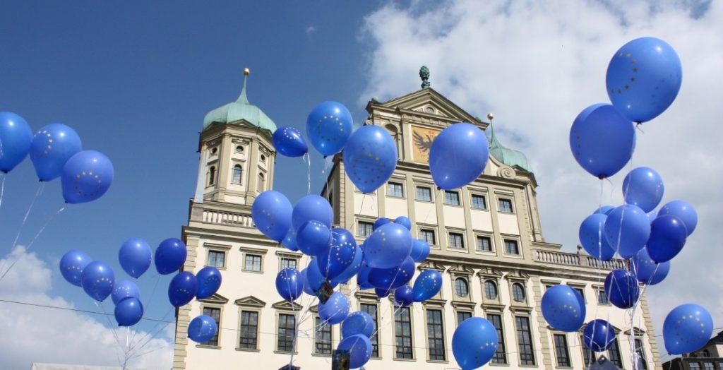 Europawoche 2019 in Augsburg (Quelle: Stadt Augsburg)