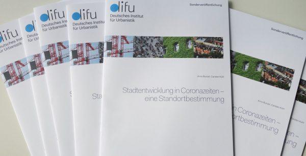 Die Difu-Studie gibt eine aktuelle Standortbestimmung zur Stadtentwicklung in Coronazeiten. (Quelle: Difu)