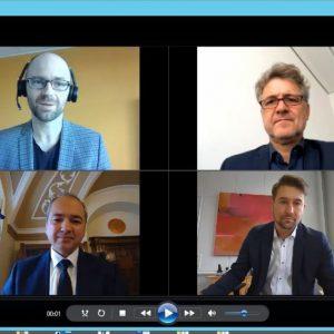 OBM-Video Erb, Mentrup, Ursu, Conradt (Quelle: Screenshot)