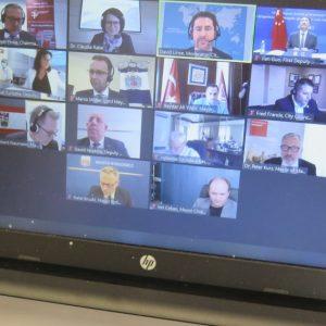 Virtuelle Bürgermeisterkonferenz Mannheim (Quelle: Andreas Erb)