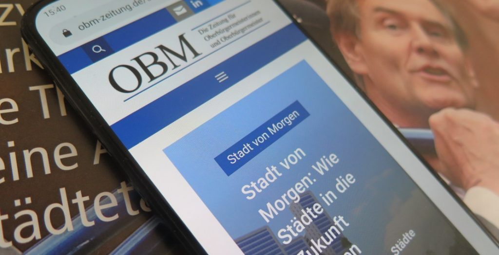 OBM-Zeitung digital (Quelle: Andreas Erb)
