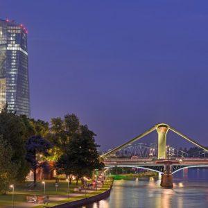 Europäische Zentralbank Frankfurt (Quelle: visitfrankfurt/Holger Ullmann)