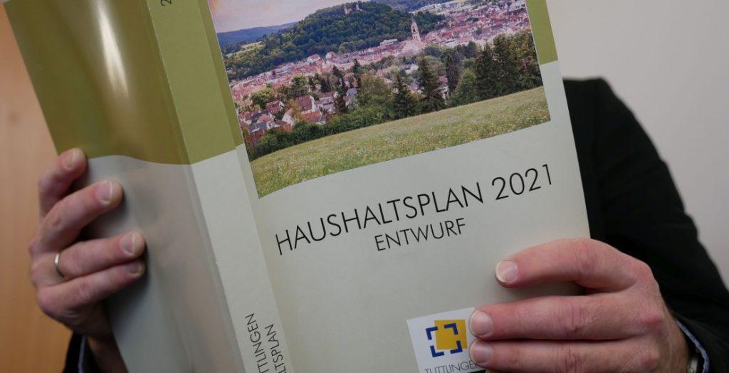 Haushaltsplan Tuttlingen (Quelle: Stadt Tuttlingen)