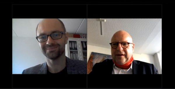 OBM-Video: Andreas Erb (links) und Markus Lewe. (Quelle: Screenshot)