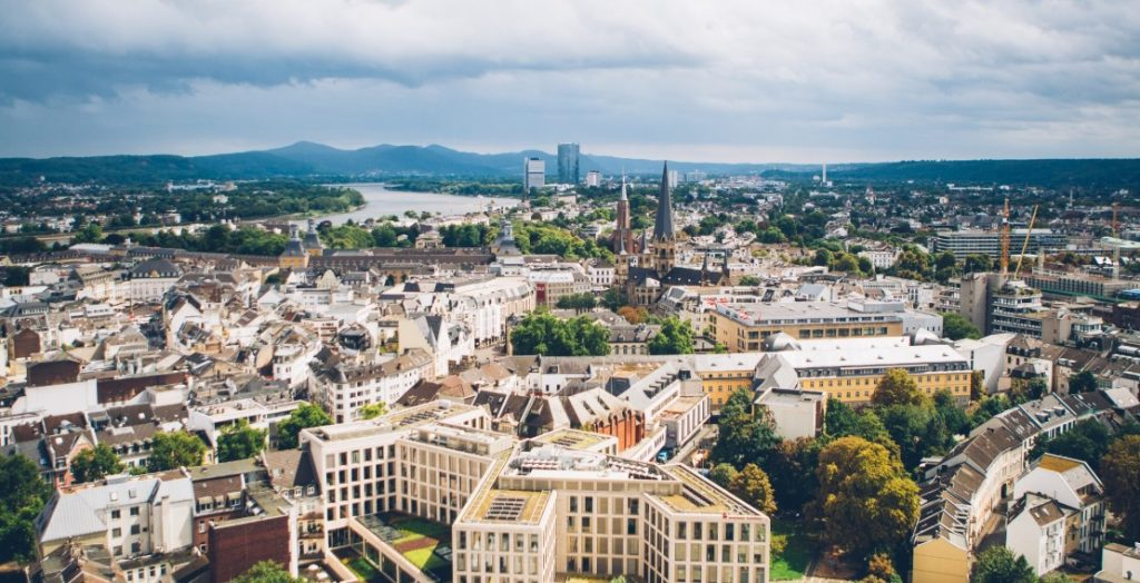Bonn, Blick vom Stadthaus (Quelle: Bundesstadt Bonn/Giacomo Zucca)