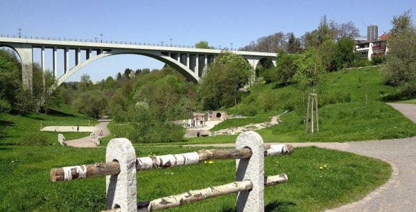 Grün in der Stadt: der Strecktalpark in Pirmasens. (Quelle: Stadt Pirmasens/Sabine Reiser)