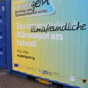 Mikrodepot in Dortmund (Quelle: Stadt Dortmund/Roland Gorecki/Dortmund-Agentur)