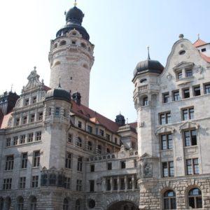 Neues Rathaus und Stadthaus in Leipzig (Quelle: Stadt Leipzig/Anke Leue)