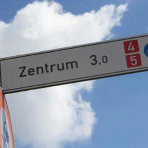 Fahrradweg in Erlangen (Quelle: Stadt Erlangen)