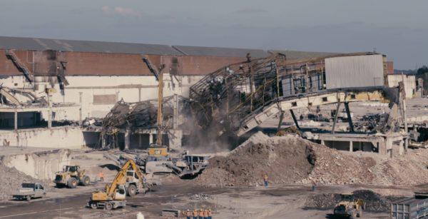 Konversion auf dem ehemaligen Opel-Gelände in Bochum: Der Umbau des Areals bedeutet eine städtebauliche Transformation. (Quelle: Stadt Bochum/Spectair)