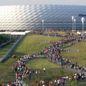 Allianz-Arena in München (Quelle: Landeshauptstadt München/Presseamt/Michael Nagy)
