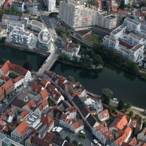 Neu-Ulm und Ulm (Quelle: Stadt Neu-Ulm/Luftbild-Service/Christian Huber)