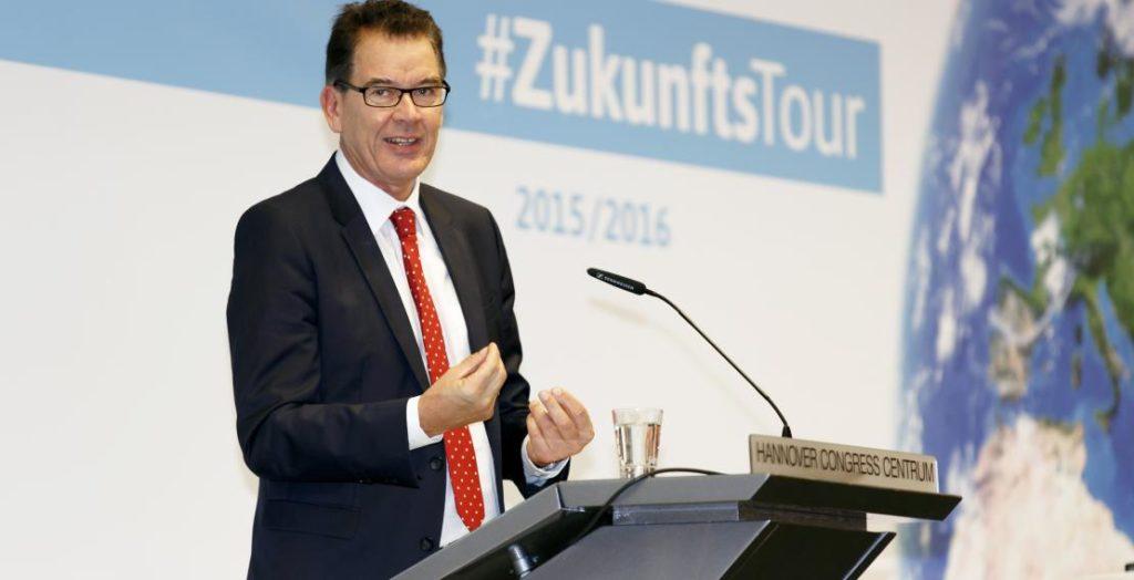 Gerd Müller (Quelle: Engagement Global/Andreas Grasser)