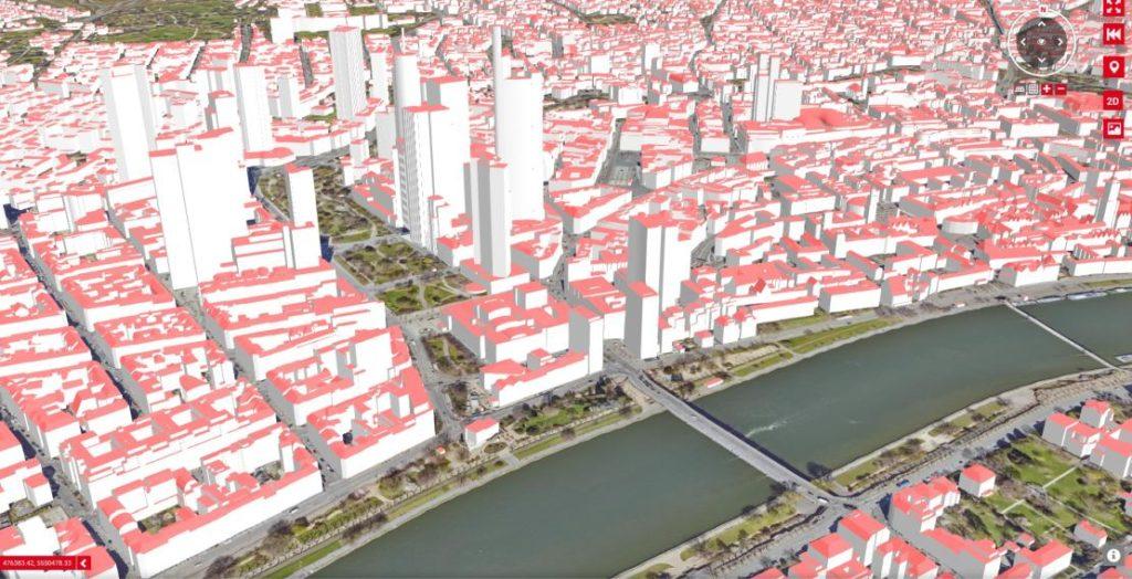 Geodatenportal Screenshot (Quelle: Stadt Frankfurt am Main)