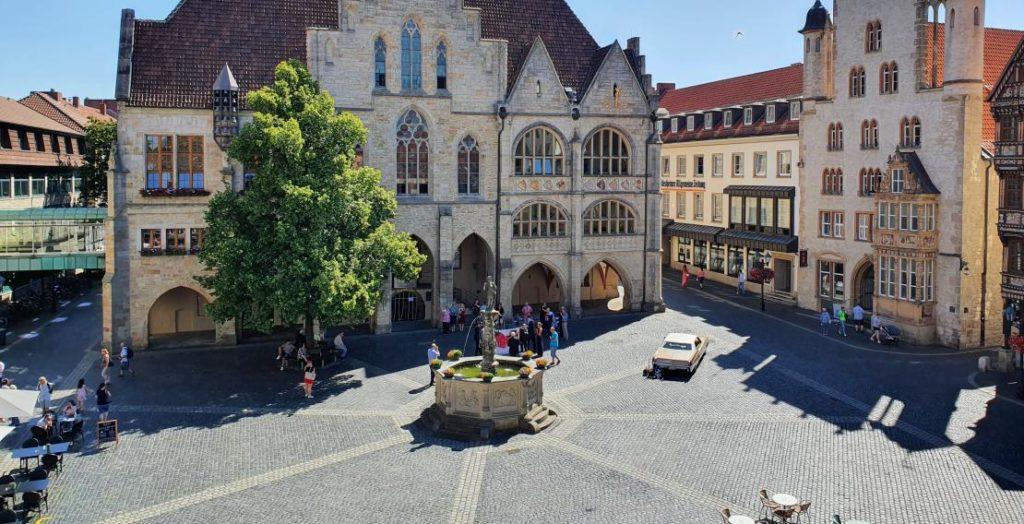 Historischer Marktplatz Hildesheim (Quelle: Hildesheim Marketing GmbH)
