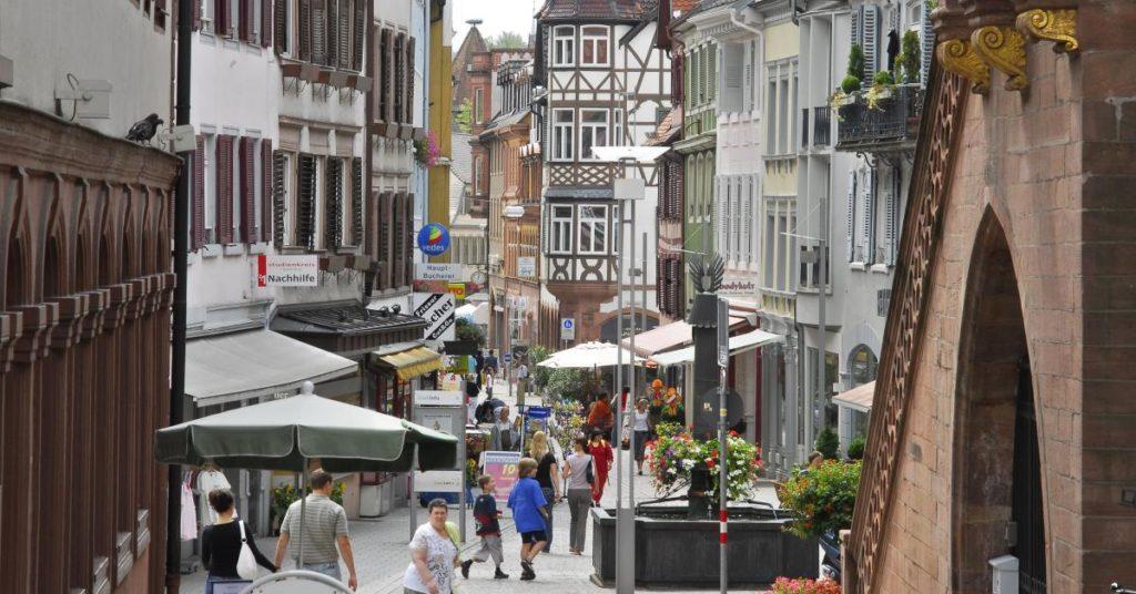 Innenstadt Lahr (Quelle: Stadt Lahr/M. Bamberger)