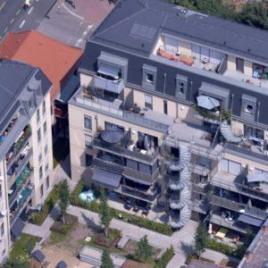 Anlage mit gefördertem Wohnen in Fürth (Quelle: Falcon Crest/GBI Holding AG)