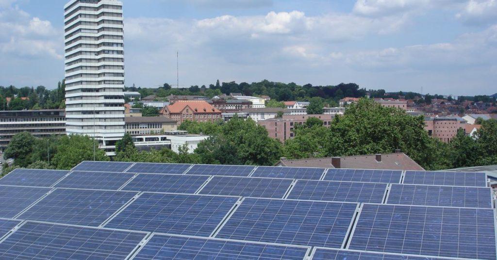 Solarmodule in Kaiserslautern (Quelle: Andreas Erb)