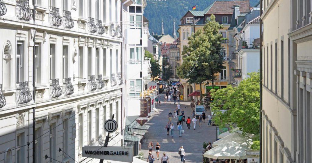 Baden-Baden Innenstadt (Quelle: Stadt Baden-Baden)
