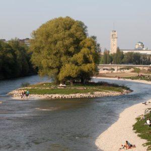 Isar in München (Quelle: Landeshauptstadt München/Presseamt/Nagy)