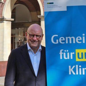 Markus Lewe (li.), Matthias Peck (Quelle: Stadt Münster/Presseamt)