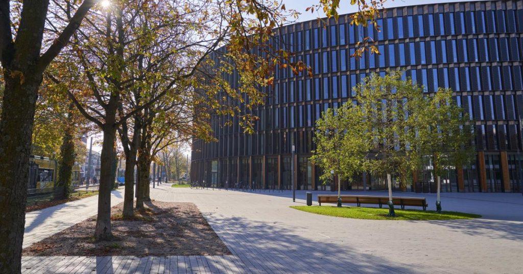 Rathaus im Stühlinger (Quelle: Stadt Freiburg/FWTM-Schwerer)