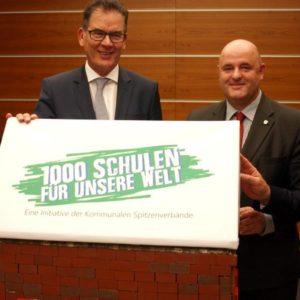 Sager, Müller, Zimmermann, Lewe (Quelle: DStGB/Jonas Wiggers)