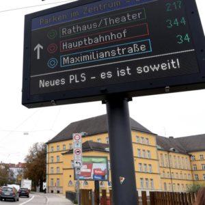 Parkleitsystem Augsburg (Quelle: Stadt Augsburg/Ruth Plössel)